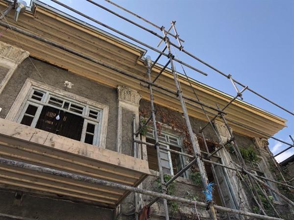اتمام 90درصد از عملیات مرمت پوشش سقف عمارت اصلی خانه دارویی گرگان