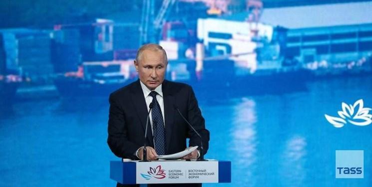 تاکید پوتین بر تمایل روسیه به کاهش تنش در خلیج فارس