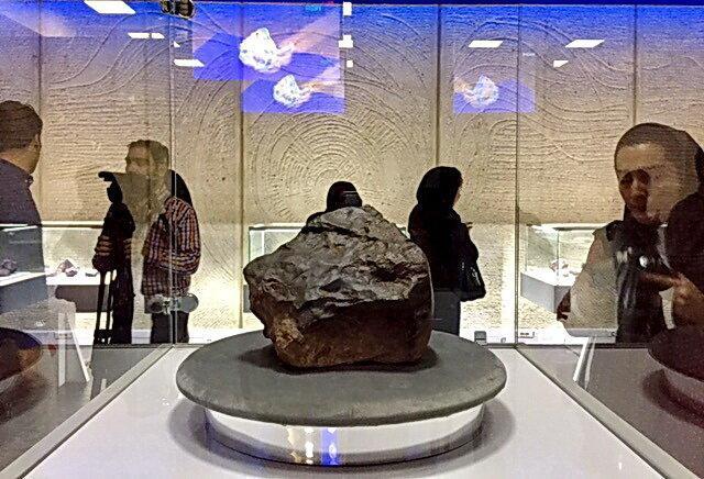 موزه شهاب سنگ نراق افتتاح شد