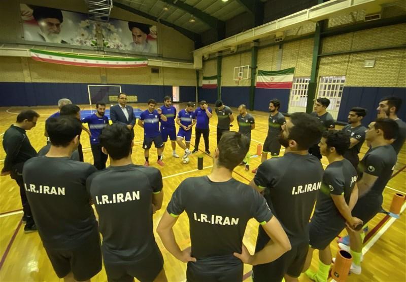 اعلام اسامی نفرات دعوت شده به اردوی دوم تیم ملی فوتسال