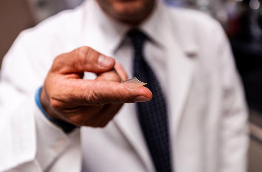 ساخت واکسن کرونا به شکل بانداژ
