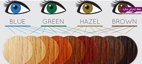 رنگ موی مناسب شما کدام است؟
