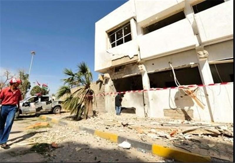افراد ناشناس برای دومین بار به ایستگاه پلیس در بنغازی حمله کردند