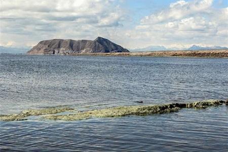 تراز دریاچه ارومیه در آستانه رسیدن به 1272 متر