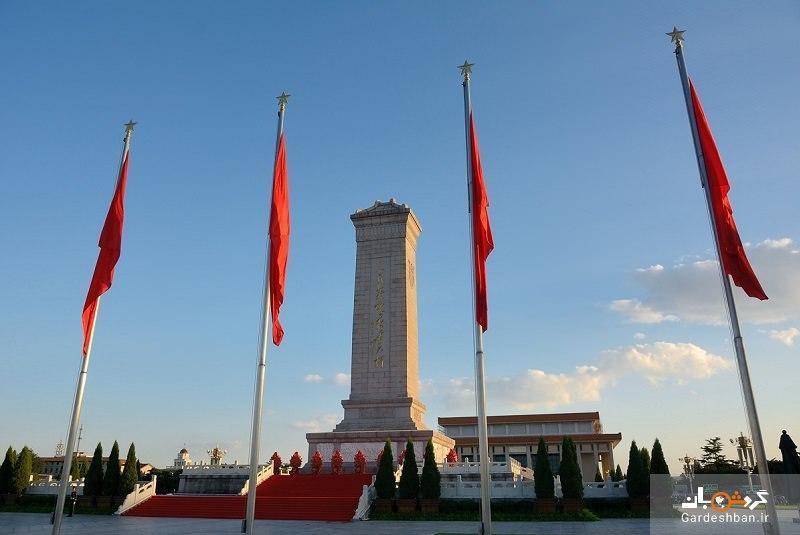 میدان تیان آن من در پکن؛عظیم ترین میدان دنیا، عکس